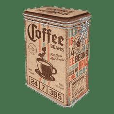 Postershop Plechová dóza s klipem - Coffee Beans