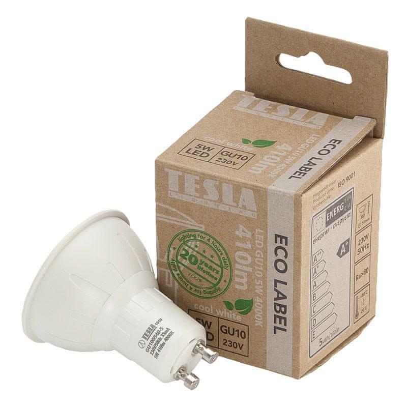 Tesla LED žárovka GU10, 5W 2pack