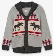 Hatley fantovski pulover z vzorcem, 110, večbarven