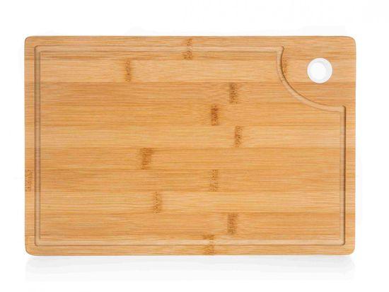Banquet Fa vágódeszka BRILLANTE Bamboo 33 cm