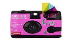 Lomography Simple Use fotoaparat za enkratno uporabo, LomoChrome Purple barvni film