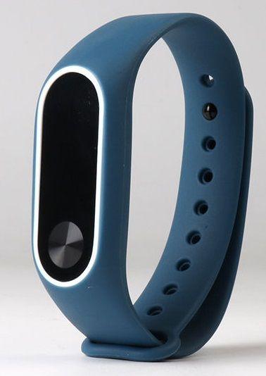 eses Náramek tmavě modrý s bílou pro Xiaomi Mi Band 2 1530000228