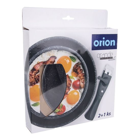 Orion Sada pánví GRANDE COMBI 2 + odnímatelná rukojeť
