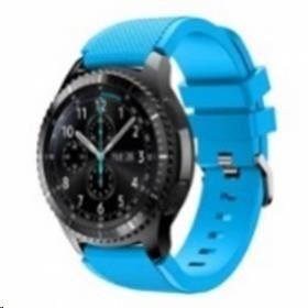 eses Silikonový řemínek nebesky modrý pro Samsung Galaxy Watch 46mm/Samsung Gear S3 1530000388