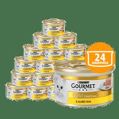 Gourmet Gold pašteta s piščancem, 24 x 85 g