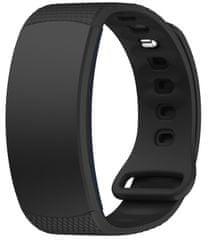 eses Szilikon óraszíj fekete színben Samsung Gear Fit 2/Gear Fit 2 Pro-hoz, S méret 1530000737