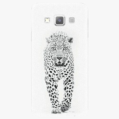 iSaprio Plastový kryt - White Jaguar - Samsung Galaxy A7
