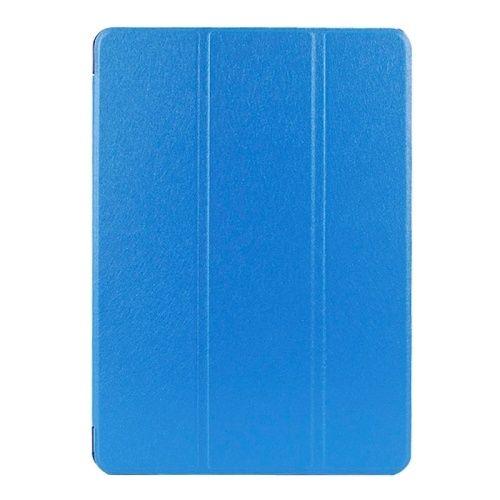 iSaprio Kožený kryt / pouzdro Smart Cover pro iPad Air 2 modrý