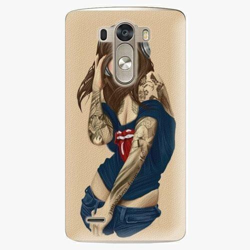 iSaprio Plastový kryt - Girl 03 - LG G3 (D855)