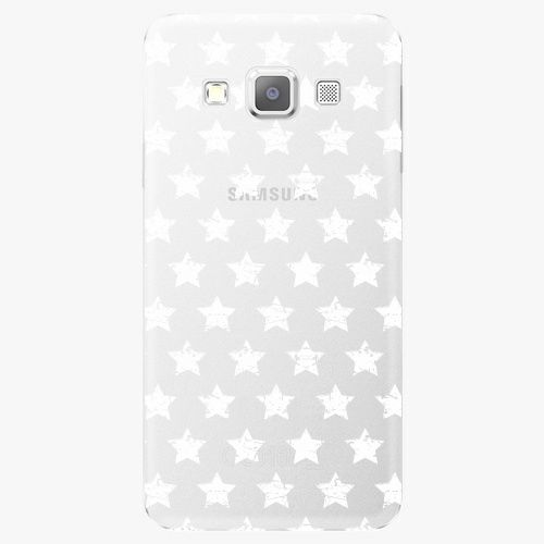 iSaprio Plastový kryt - Stars Pattern - white - Samsung Galaxy A5