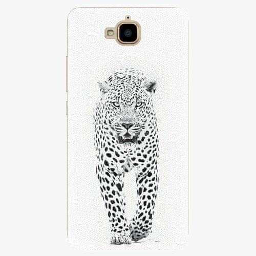 iSaprio Plastový kryt - White Jaguar - Huawei Y6 Pro