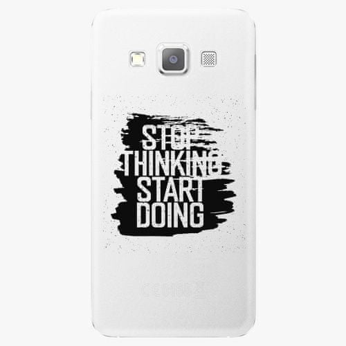 iSaprio Plastový kryt - Start Doing - black - Samsung Galaxy A7