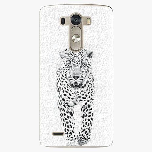 iSaprio Plastový kryt - White Jaguar - LG G3 (D855)