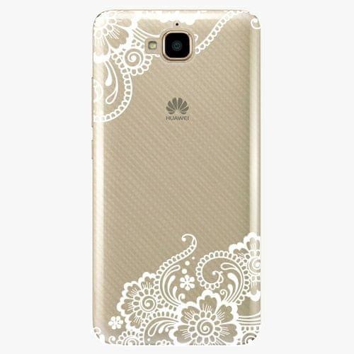 iSaprio Plastový kryt - White Lace 02 - Huawei Y6 Pro