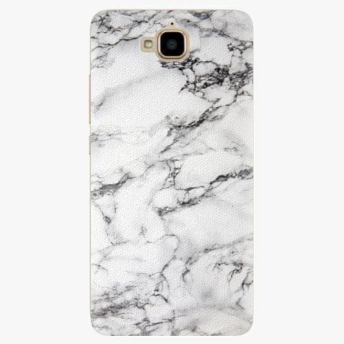 iSaprio Plastový kryt - White Marble 01 - Huawei Y6 Pro