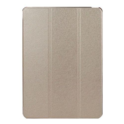 iSaprio Kožený kryt / pouzdro Smart Cover pro iPad Air 2 zlatý