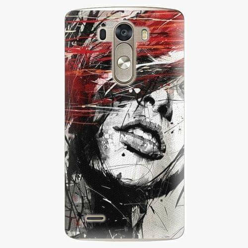 iSaprio Plastový kryt - Sketch Face - LG G3 (D855)
