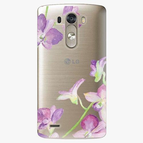 iSaprio Plastový kryt - Purple Orchid - LG G3 (D855)