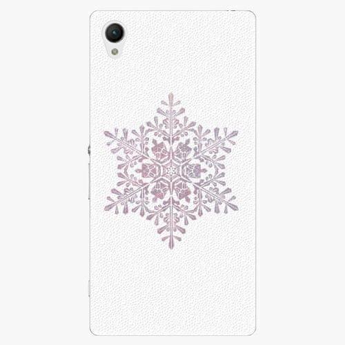 iSaprio Plastový kryt - Snow Flake - Sony Xperia Z1 Compact
