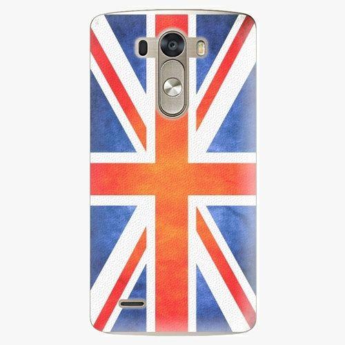 iSaprio Plastový kryt - UK Flag - LG G3 (D855)
