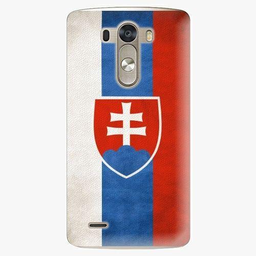 iSaprio Plastový kryt - Slovakia Flag - LG G3 (D855)