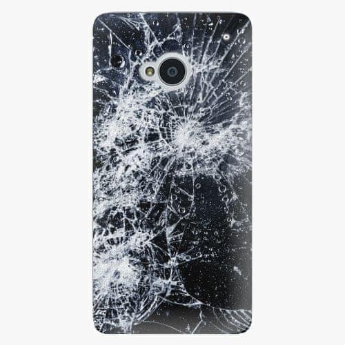 iSaprio Plastový kryt - Cracked - HTC One M7