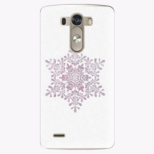 iSaprio Plastový kryt - Snow Flake - LG G3 (D855)