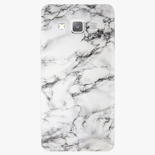 iSaprio Plastový kryt - White Marble 01 - Samsung Galaxy A7