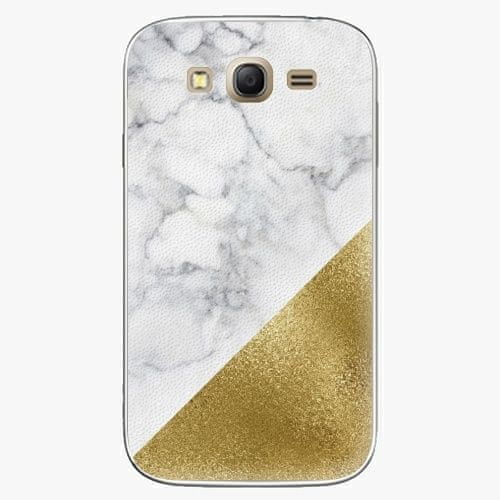 iSaprio Plastový kryt - Gold and WH Marble - Samsung Galaxy Grand Neo Plus