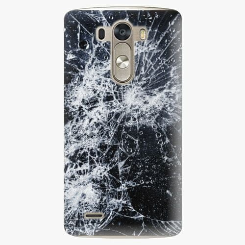 iSaprio Plastový kryt - Cracked - LG G3 (D855)