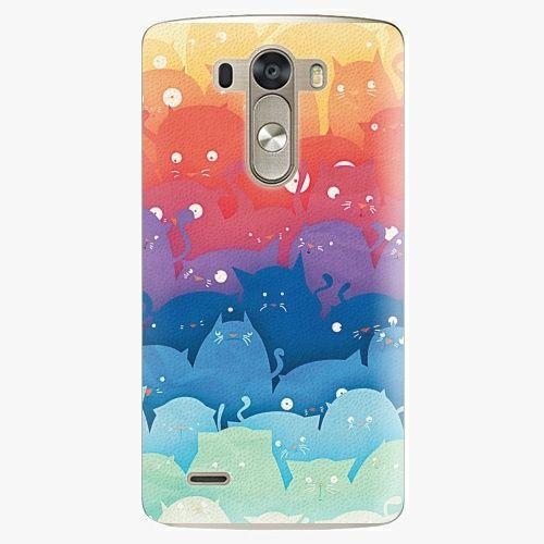 iSaprio Plastový kryt - Cats World - LG G3 (D855)