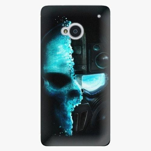 iSaprio Plastový kryt - Roboskull - HTC One M7