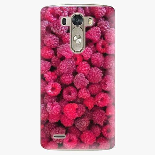 iSaprio Plastový kryt - Raspberry - LG G3 (D855)