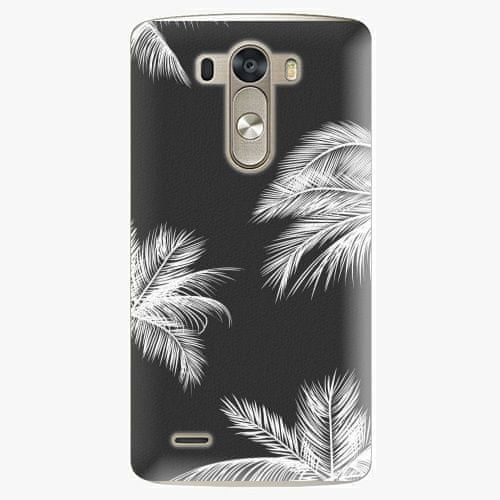 iSaprio Plastový kryt - White Palm - LG G3 (D855)