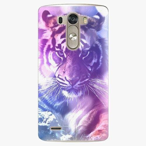 iSaprio Plastový kryt - Purple Tiger - LG G3 (D855)