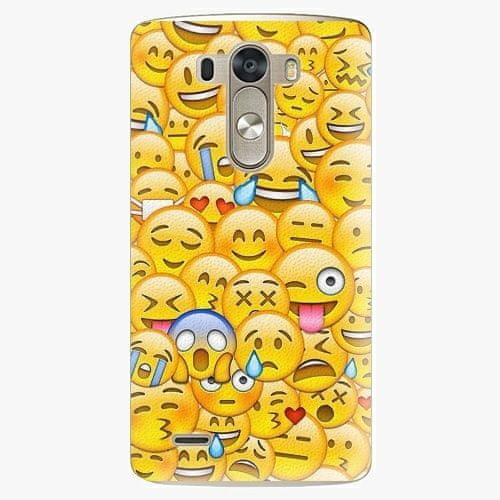 iSaprio Plastový kryt - Emoji - LG G3 (D855)
