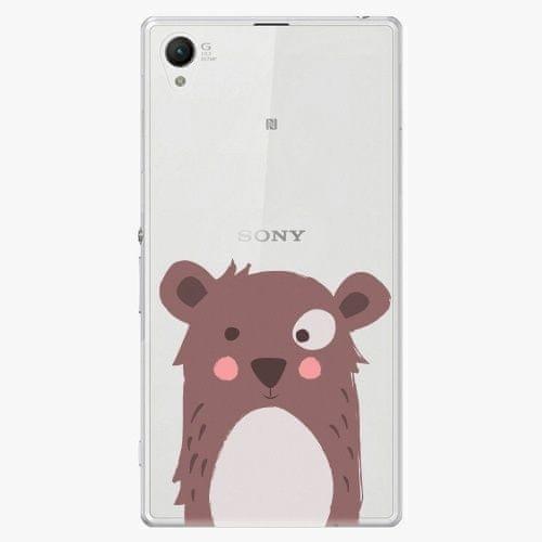 iSaprio Plastový kryt - Brown Bear - Sony Xperia Z1 Compact