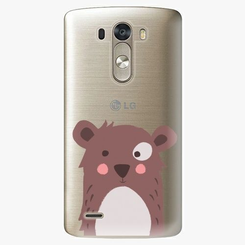 iSaprio Plastový kryt - Brown Bear - LG G3 (D855)
