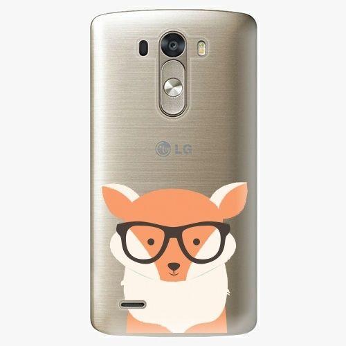 iSaprio Plastový kryt - Orange Fox - LG G3 (D855)