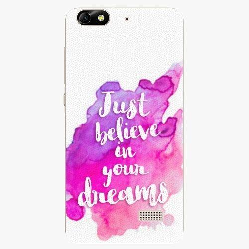 iSaprio Plastový kryt - Believe - Huawei Honor 4C