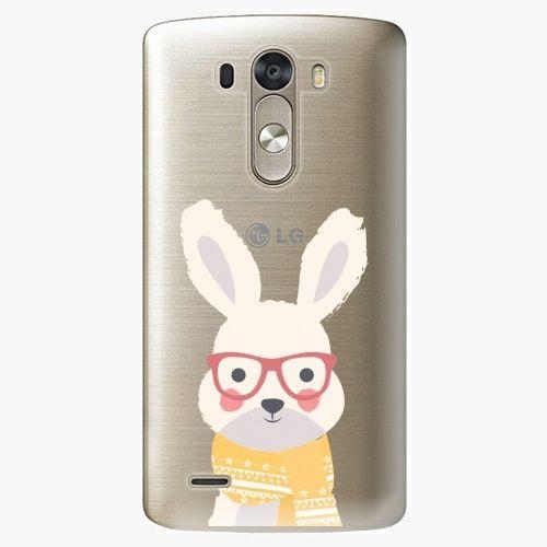 iSaprio Plastový kryt - Smart Rabbit - LG G3 (D855)