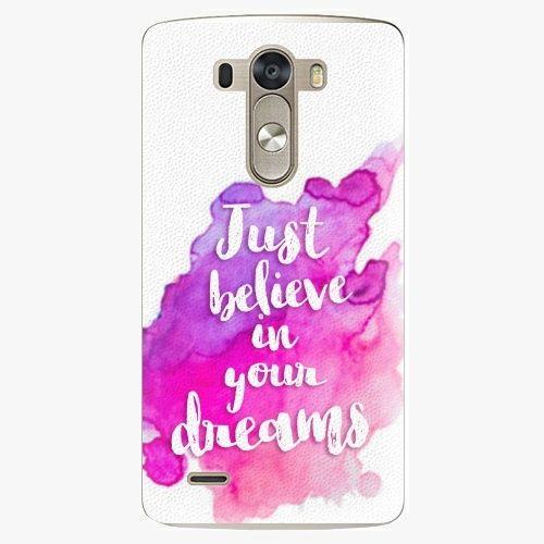 iSaprio Plastový kryt - Believe - LG G3 (D855)