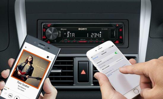 SONY radio samochodowe MEX-N4300BT
