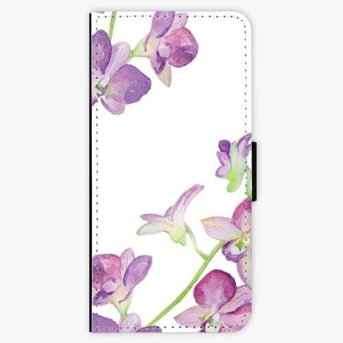 iSaprio Flipové pouzdro - Purple Orchid - LG G6 (H870)