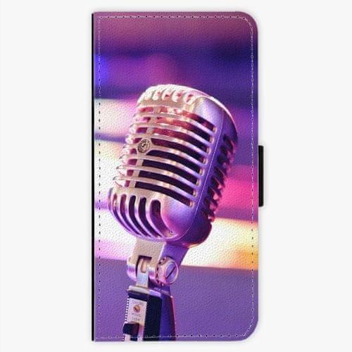 iSaprio Flipové pouzdro - Vintage Microphone - LG G6 (H870)