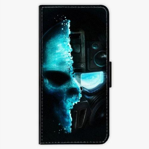 iSaprio Flipové pouzdro - Roboskull - LG G6 (H870)