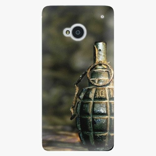 iSaprio Plastový kryt - Grenade - HTC One M7