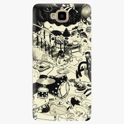 iSaprio Plastový kryt - Underground - Huawei Y6 Pro