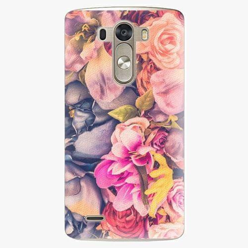 iSaprio Plastový kryt - Beauty Flowers - LG G3 (D855)