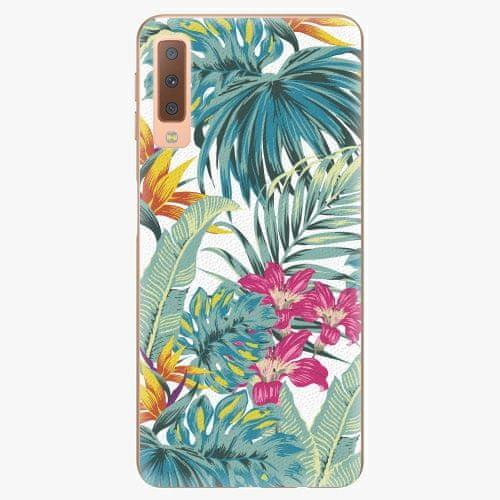 iSaprio Plastový kryt - Tropical White 03 - Samsung Galaxy A7 (2018)